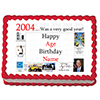 2004 PERSONALIZED ICING ART PARTY SUPPLIES