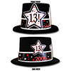2006 - 13TH BIRTHDAY TOP HAT PARTY SUPPLIES