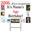 2006 PERSONALIZED YARD SIGN PARTY SUPPLIES