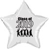2019 BLACK GRADUATION STAR BALLOON PARTY SUPPLIES