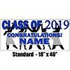 2019 BLUE GRADUATION BANNER PARTY SUPPLIES