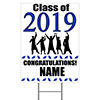 2019 GRADUATION BLUE YARD SIGN PARTY SUPPLIES