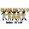 2019 GOLD GRADUATION DELUXE BANNER PARTY SUPPLIES