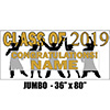2019 GOLD GRADUATION JUMBO BANNER PARTY SUPPLIES