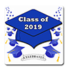 2019 GRADUATION BLUE COASTER PARTY SUPPLIES