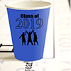2019 GRADUATION BLUE CUP PARTY SUPPLIES