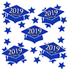 2019 GRADUATION BLUE DECO FETTI PARTY SUPPLIES