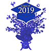 2019 GRADUATION BLUE CENTERPIECE PARTY SUPPLIES