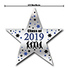 2019 GRADUATION BLUE STAR DECORATION PARTY SUPPLIES