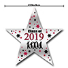 2019 GRADUATION CRIMSON-RED STAR DECORAT PARTY SUPPLIES