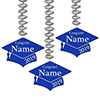 2019 GRADUATION CUSTOM BLUE DANGLER PARTY SUPPLIES