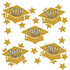 2019 GRADUATION GOLD DECO FETTI PARTY SUPPLIES