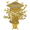 2019 GRADUATION GOLD CENTERPIECE PARTY SUPPLIES