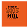 2019 GRADUATION ORANGE BEVERAGE NAPKIN PARTY SUPPLIES