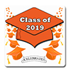 2019 GRADUATION ORANGE COASTER PARTY SUPPLIES
