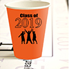 2019 GRADUATION ORANGE CUP PARTY SUPPLIES