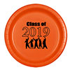 2019 GRADUATION ORANGE DESSERT PLATE PARTY SUPPLIES