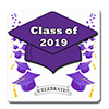 2019 GRADUATION PURPLE COASTER PARTY SUPPLIES