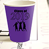 2019 GRADUATION PURPLE CUP PARTY SUPPLIES