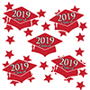 2019 GRADUATION RED DECO FETTI PARTY SUPPLIES