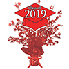 2019 GRADUATION RED CENTERPIECE PARTY SUPPLIES