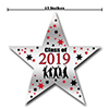 2019 GRADUATION RED STAR DECORATION PARTY SUPPLIES