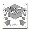 2019 GRADUATION SILVER COASTER PARTY SUPPLIES