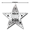 2019 GRADUATION SILVER STAR DECORATION PARTY SUPPLIES