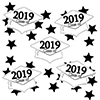 2019 GRADUATION WHITE DECO FETTI PARTY SUPPLIES
