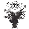 2019 GRADUATION WHITE CENTERPIECE PARTY SUPPLIES