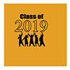 2019 GRADUATION YELLOW BEVERAGE NAPKIN PARTY SUPPLIES