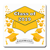 2019 GRADUATION YELLOW COASTER PARTY SUPPLIES