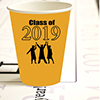 2019 GRADUATION YELLOW CUP PARTY SUPPLIES