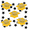 2019 GRADUATION YELLOW DECO FETTI PARTY SUPPLIES