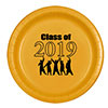 2019 GRADUATION YELLOW DESSERT PLATE PARTY SUPPLIES