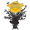 2019 GRADUATION YELLOW CENTERPIECE PARTY SUPPLIES