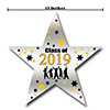 2019 GRADUATION YELLOW STAR DECORATION PARTY SUPPLIES