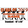 2019 ORANGE GRADUATION BANNER PARTY SUPPLIES