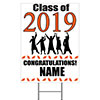 2019 GRADUATION ORANGE YARD SIGN PARTY SUPPLIES