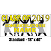 2019 YELLOW GRADUATION BANNER PARTY SUPPLIES