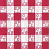 RED GINGHAM BEVERAGE NAPKINS (50 CT.) PARTY SUPPLIES