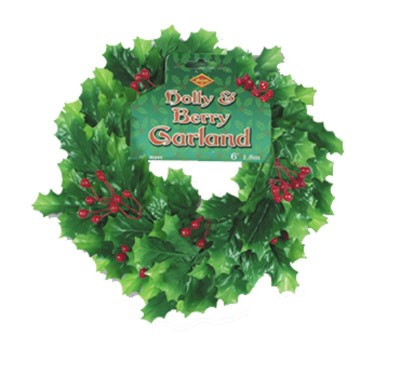 CHRISTMAS GARLAND DECORATIONS