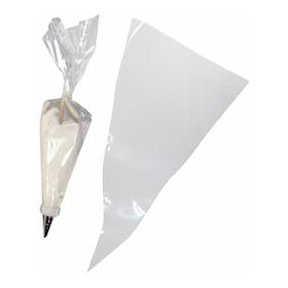 Click for larger picture of DISPOSABLE DECORATOR BAGS/24 CT PARTY SUPPLIES