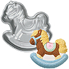 ROCKING HORSE SHAPED CAKE PAN PARTY SUPPLIES