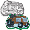 TRACTOR SHAPED CAKE PAN PARTY SUPPLIES