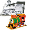 TRAIN CAKE PAN SET PARTY SUPPLIES