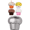 CUPCAKE SHAPED CAKE PANS PARTY SUPPLIES