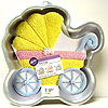 BABY BUGGY CAKE PAN PARTY SUPPLIES