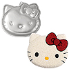 HELLO KITTY SHAPED CAKE PAN PARTY SUPPLIES