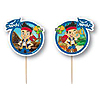 JAKE NEVER LAND PIRATES FUN PICKS PARTY SUPPLIES